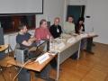 Del udeležencev Okrogle mize Vizualna dokumentacija nesnovne dediščine