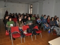 The audience at the session of student films