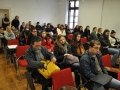 Publika pri sekciji študentskih filmov