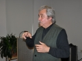 Renato Morelli med diskusijo po filmu