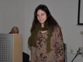 Irena Rožman med moderiranjem filma Eggs for later