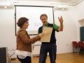 Tamar Tal receiving wrong diploma